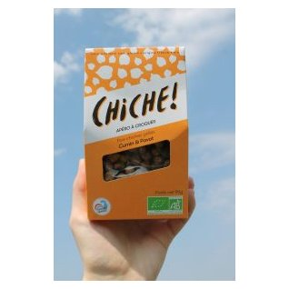 CHICHE - POIS CHICHES GRILLÉS – PACK CUMIN & PAVOT (3X90G) - Apéritif et biscuits salés - 0.270