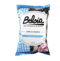 Chips BELSIA - Chips artisanales au sel de l'ile de Ré - Chips