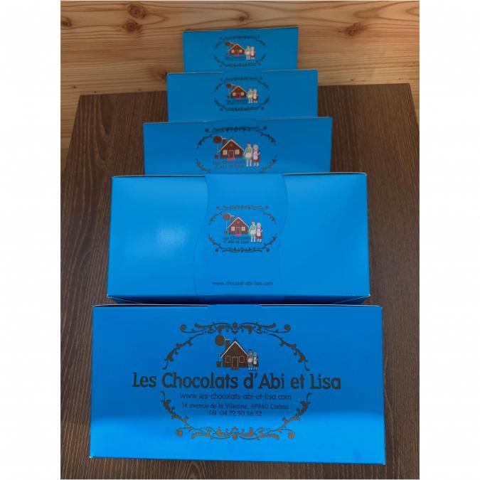 Chocolats d'Abi et Lisa - Ballotin de 375g - Chocolat