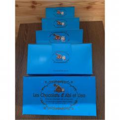 Chocolats d'Abi et Lisa - Ballotin de 750g - Chocolat