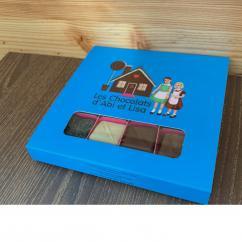 Chocolats d'Abi et Lisa - Coffret Abi et Lisa 100g - Chocolat