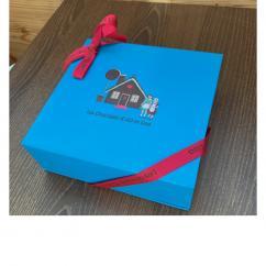Chocolats d'Abi et Lisa - Coffret Abi et Lisa 340g - Chocolat