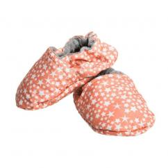 """CHOUCHOUETTE - Chaussons souples """"Constellation corail"""" - 0/6 mois - Chausson"""