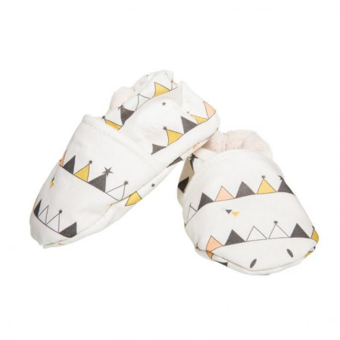 "CHOUCHOUETTE - Chaussons souples ""Tipis"" - 6/12 mois - Chausson"