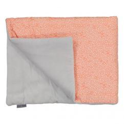 CHOUCHOUETTE - Couverture douceur constellation corail - Couverture pour bébé