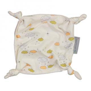 CHOUCHOUETTE - Doudou plat Nuages grèges - Doudou (bébé)