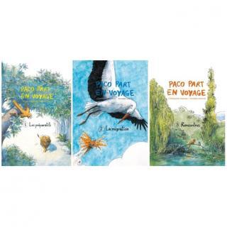 Christophe Mercier - PACO PART EN VOYAGE (trilogie) - Livre - 6 à 8 ans