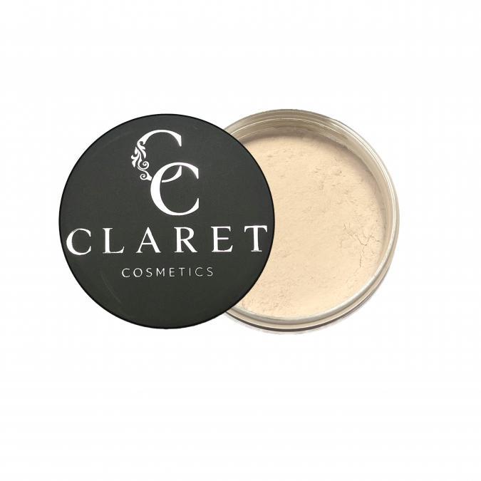 Claret Cosmetics - Poudre libre beige clair - Poudre libre