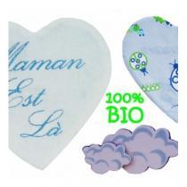 Cococinelle - Doudou prématuré /bébé bio coccinelle bleu - Doudou (bébé)