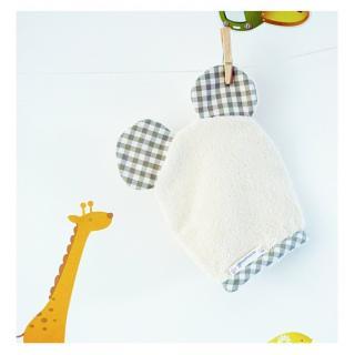 Cococinelle - Gant Nounours - Gant de toilette enfant