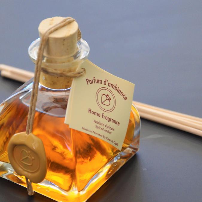 COEUR DE CIGALE - Diffuseur d'ambiance Ambre Epicée - 250ml - Parfum d'intérieur -