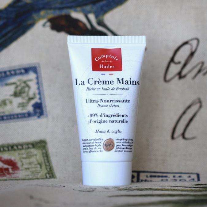 Comptoir des Huiles - La Crème Mains - certifiée Cosmos Organic  - 50 ml - Crème pour les mains - 0.120