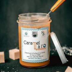 CONFISERIE LOU SUCREU - Caramel à l'O - Pâte à tartiner - 230g