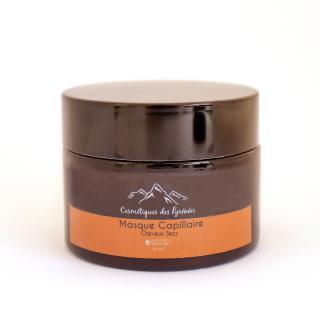 COSMÉTIQUES DES PYRÉNÉES - Masque Capillaire Cheveux secs 50ml - soin des cheveux