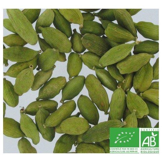 COULEURS D'ÉPICES - Cardamome verte (graine) - 100 gr - cardamome