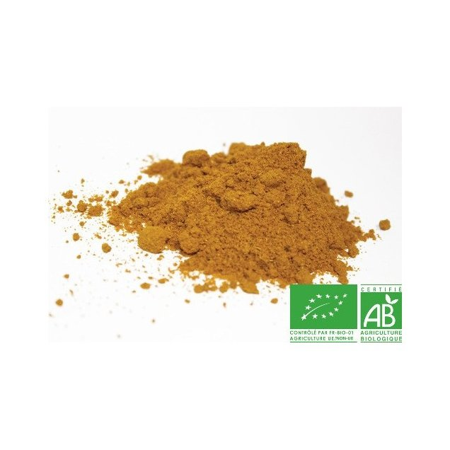 COULEURS D'ÉPICES - Curry de Madras fort - 25 gr - curry