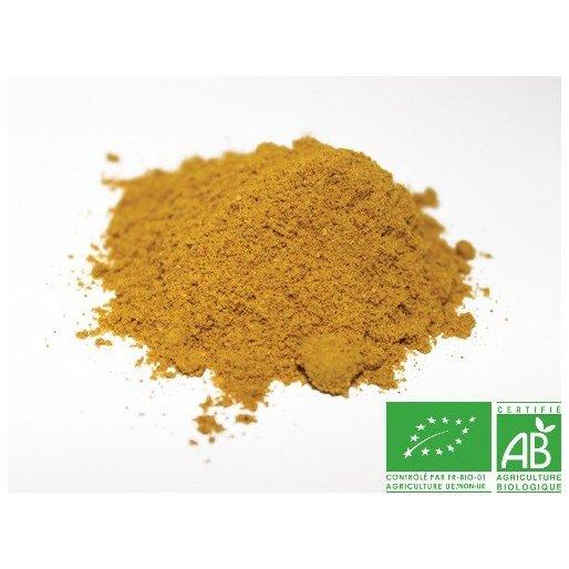 COULEURS D'ÉPICES - Curry indien doux - 25 gr - curry