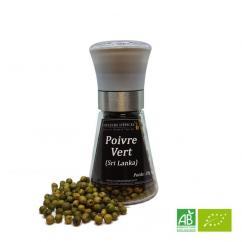 COULEURS D'ÉPICES - Moulin Poivre vert (Inde) lyophilisé - 28 gr - Poivre