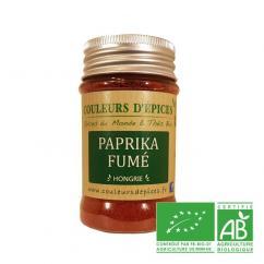 COULEURS D'ÉPICES - Paprika fumé - 100 gr - paprika