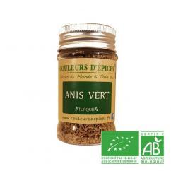 COULEURS D'ÉPICES - Pot Anis vert graines - 50 gr - Anis vert