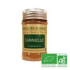 COULEURS D'ÉPICES - Pot Cannelle moulue - 50 gr - Cannelle