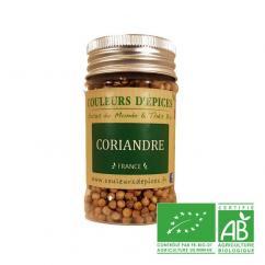 COULEURS D'ÉPICES - Pot Coriandre graines - 30 gr - coriandre