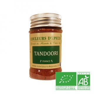 COULEURS D'ÉPICES - Pot Tandoori - 50 gr - tandoori
