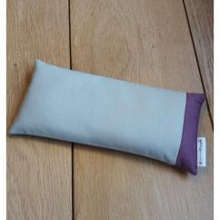 Créa'Récup Design - Bouillotte sèche MOYENNE- brun violet - Bouillotte sèche