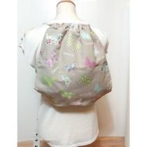 Créa'Récup Design - Sac à dos à cordelette papillons verts - Sac à dos (enfant)