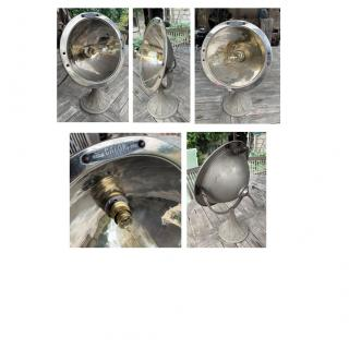 CREALAMPES - Lampe UPCYCLING ancien chauffage CALOR - Lampe d'ambiance