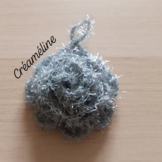 Créaméline - Fleur pour la vaisselle (TAWASHI) - gris - Tawashi