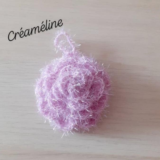 Créaméline - Fleur pour la vaisselle (TAWASHI) - lila clair - Tawashi