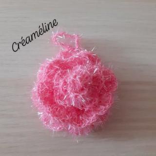 Créaméline - Fleur pour la vaisselle (TAWASHI) - rose - Tawashi