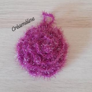 Créaméline - Fleur pour la vaisselle (TAWASHI) - violet - Tawashi