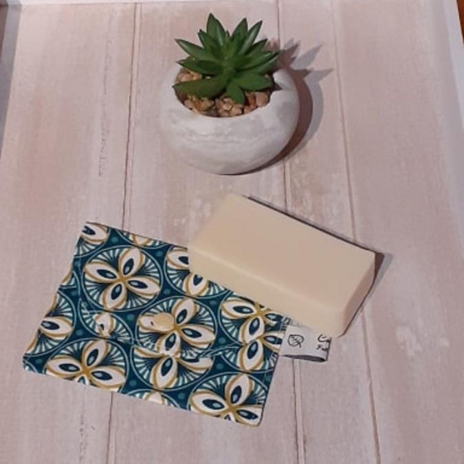 Créaméline - Pochette à savon - LIVY - Pochette à savon