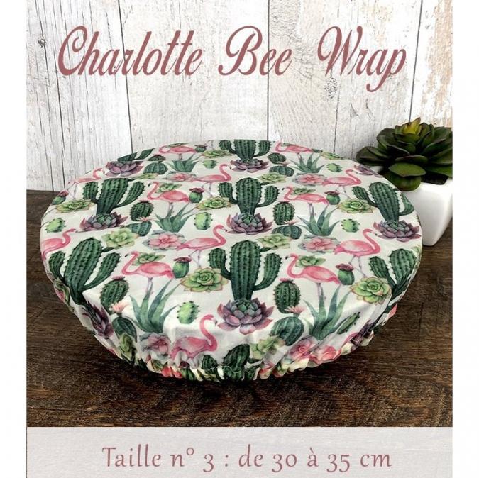 Création zéro-déchet - Pack 3 charlottes Bee-wraps - Emballage réutilisable