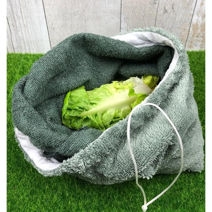 Création zéro-déchet - SAC à SALADE FRAICHEUR - Sac à salade