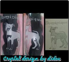 Crystal Design by Didou - Gravure sur vase oval - Vase