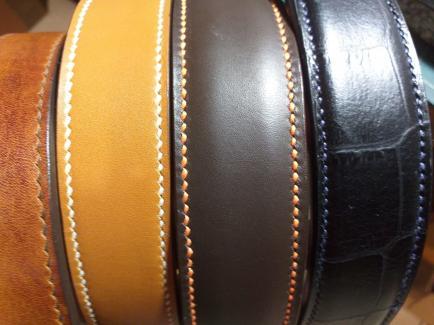Cuir et bijoux - Créations cuir, ceintures,bracelets et colliers tout fait main ,personnalisable et sûr mesure.