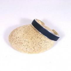 Cuir et Carnets - Bracelet métal et cuir - Bracelet - Metal et cuir