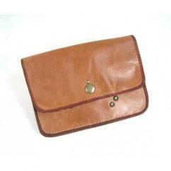 Cuir et Carnets - Pochette cuir pour ceinture, sûre et discrète. Accessoire pratique et élégant - Pochette (maroquinerie) - Marron