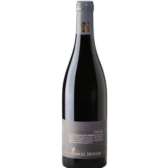 Cyril monier - Côtes du Rhône  cuvée gria Ampélos - 2017 - Bouteille - 0.75L