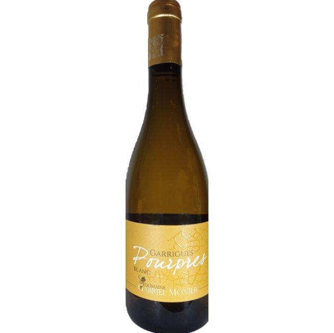 Cyril monier - Côtes du Rhône  Garrigues Pourpres Blanc - 2019 - Bouteille - 0.75L