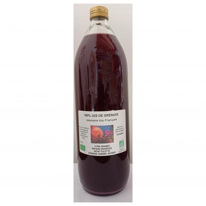 Cyril monier - Jus de grenade   1 L - Jus de fruit