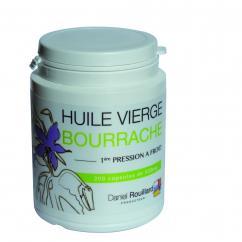 Daniel ROUILLARD Producteur - Huile vierge de bourrache - Production Française - 200 capsules - complément alimentaire