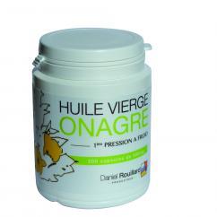 Daniel ROUILLARD Producteur - Huile vierge d'onagre - Production Française - 200 capsules - complément alimentaire