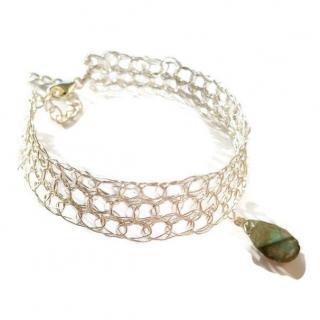Dekalyna - Bracelet fin Pierre de gemme aux choix en argent - Bracelet - argent