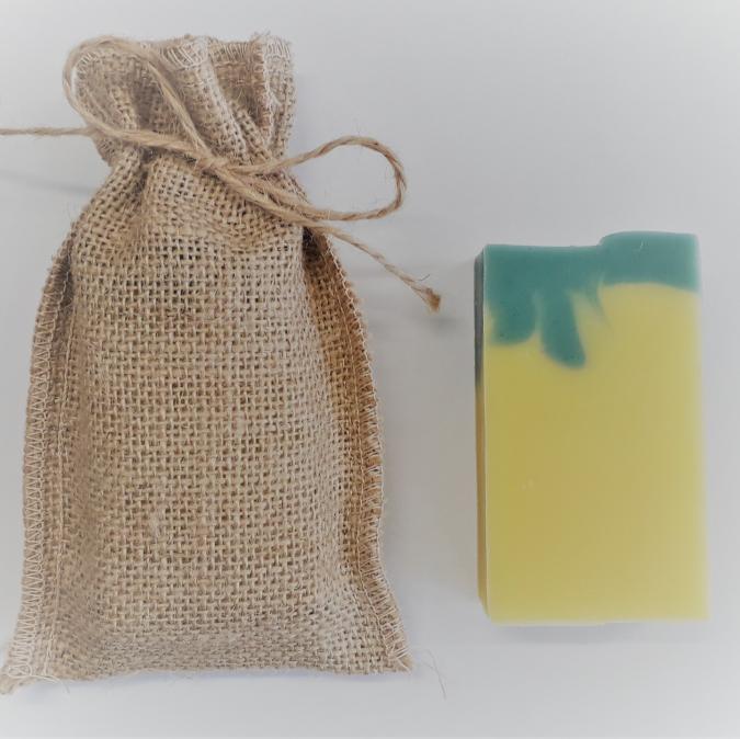 Dessine moi un savon - Savon surgras CHALANDOU, enrichi en Karité, Vegan - Savon - 100 g