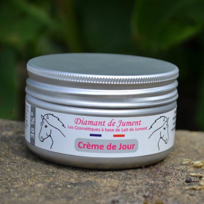 Diamant de Jument - Crème de jour au lait de jument - Crème pour le visage