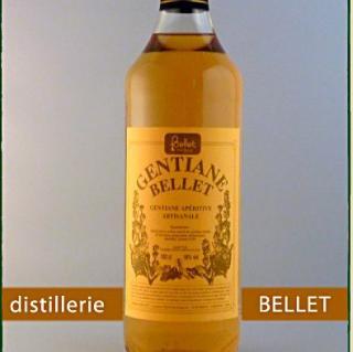 Distillerie Bellet - Gentiane - Apéritif